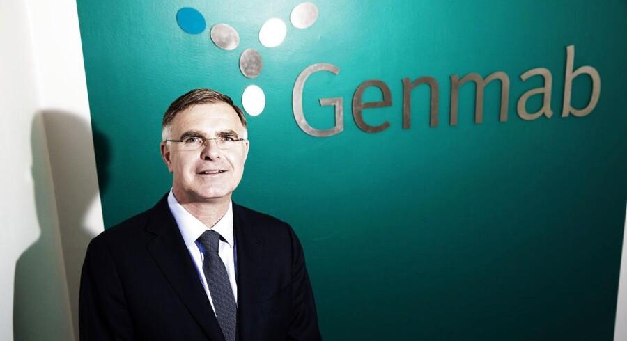 Administrerende direktør i Genmab, Jan van de Winkel.