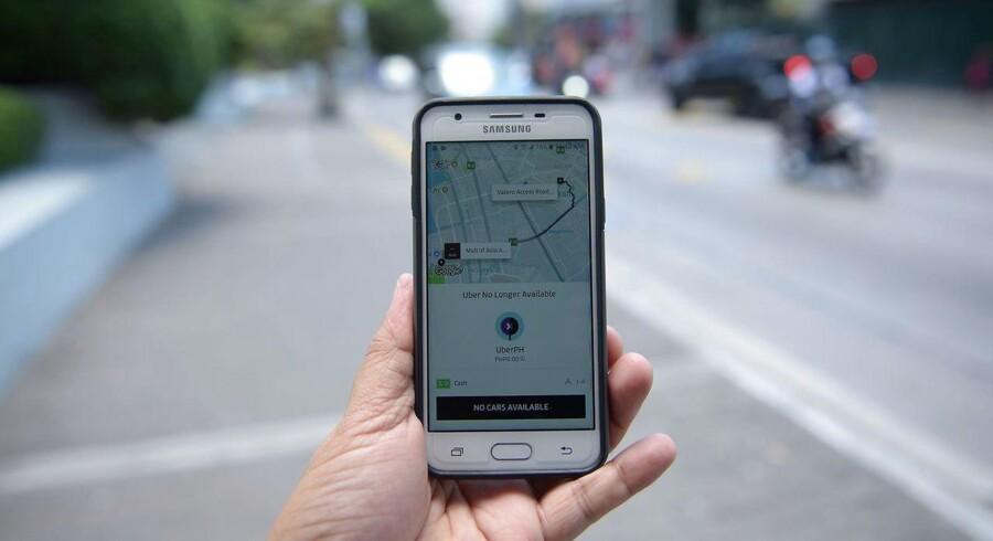 Arkivfoto. Heftig kritik får Uber til at trække en kontroversiel overvågningsfunktion tilbage.