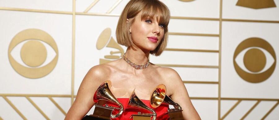 Taylor Swift - Grammy-vinder der kan selv.