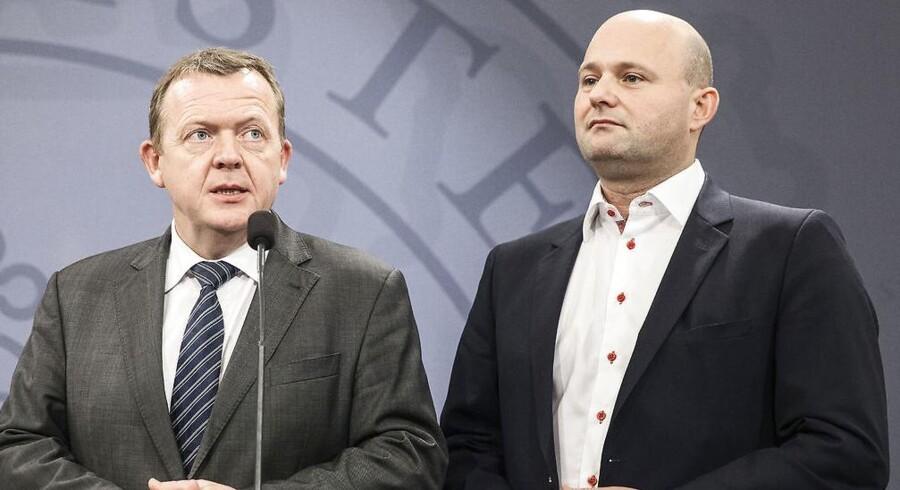 ARKIVFOTO 2014 af Lars Løkke Rasmussen og Søren Pape