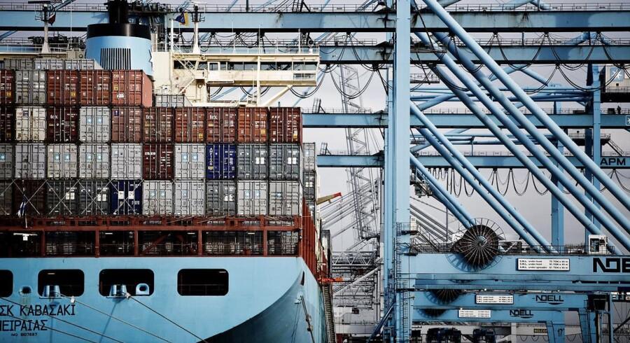 Arkivfoto: Danske Rederier er meget tilfredse med den del af regeringens erhvervsudspil, der ligestiller folk på offshore-skibe med andre søfolk, hvad angår beskatning.