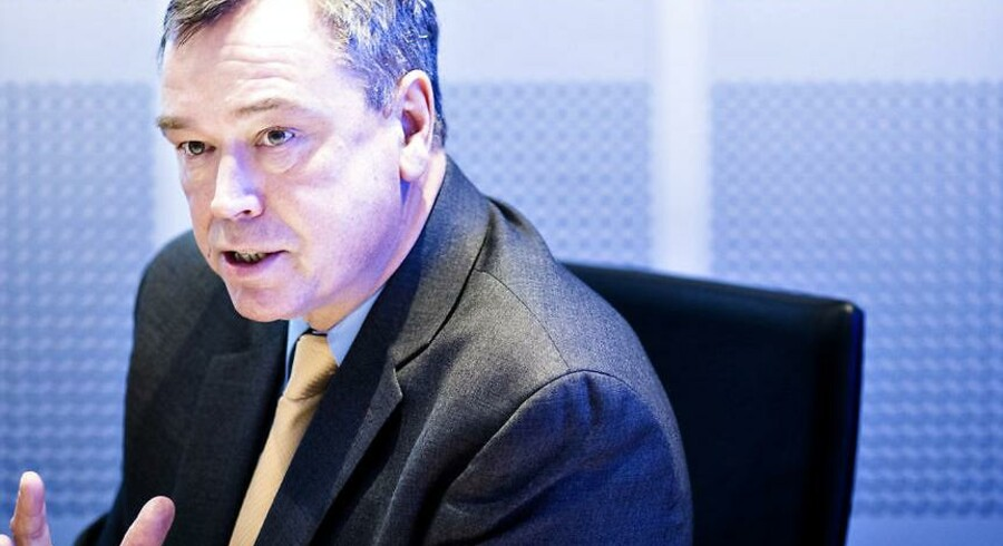 Novozymes' topchef Peder Holk Nielsen