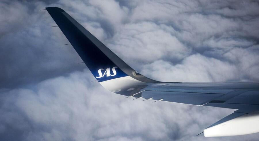 ARKIVFOTO: SAS fly
