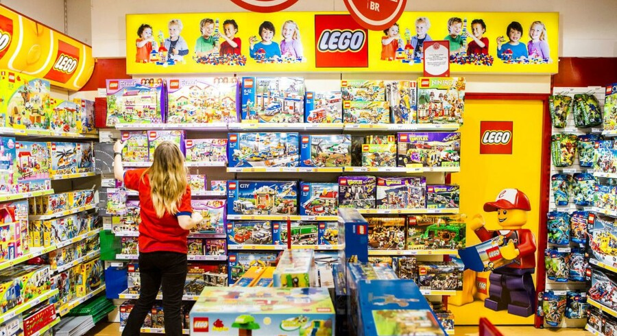 Lego frygter endnu en gang, at de ikke kan følge med efterspørgslen i julen. Arkivfoto.