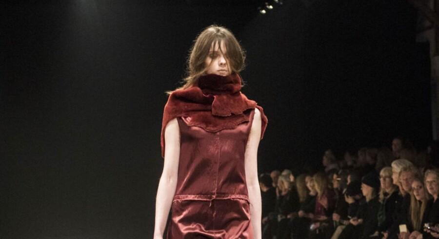 Modeshow fra Ivan Grundahl i Papirhallen onsdag d. 1 februar 2017.
