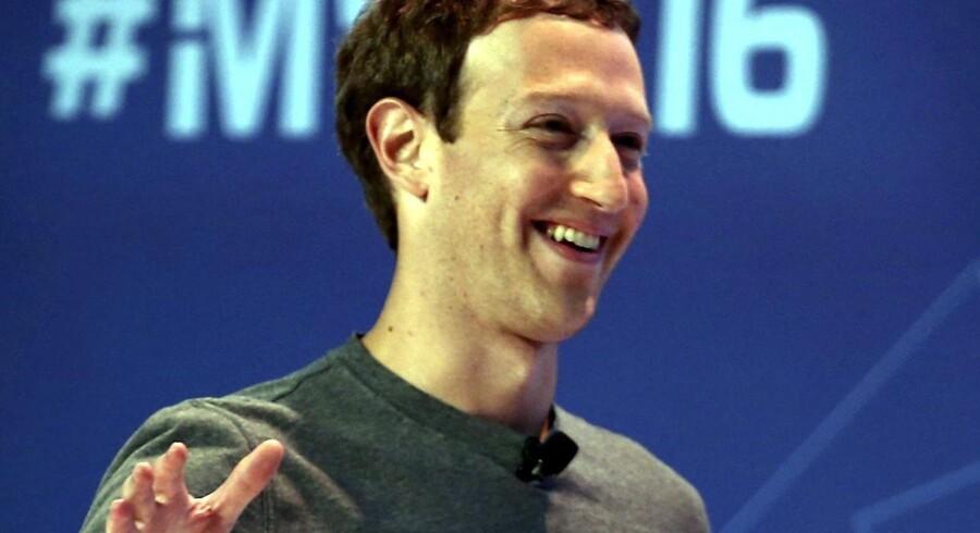 Facebooks grundlægger og CEO, Mark Zuckerberg. EPA/TONI ALBIR