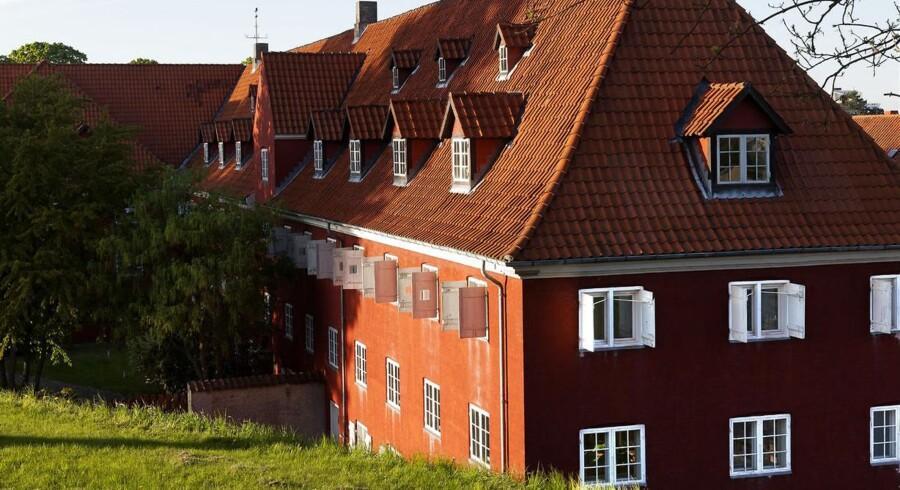 Kastellet i København, hvor dele af Forsvarets Efterretningstjeneste holder til.