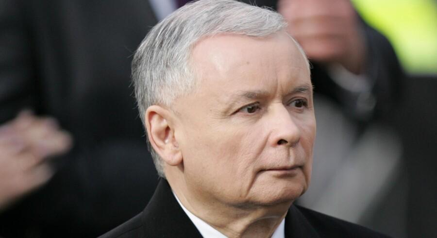 Jaroslaw Kaczynski, bror til Polens afdøde præsident Lech Kaczynski, nomineres nu selv som præsidentkandidat for den nationalkonservative bevægelse PiS.