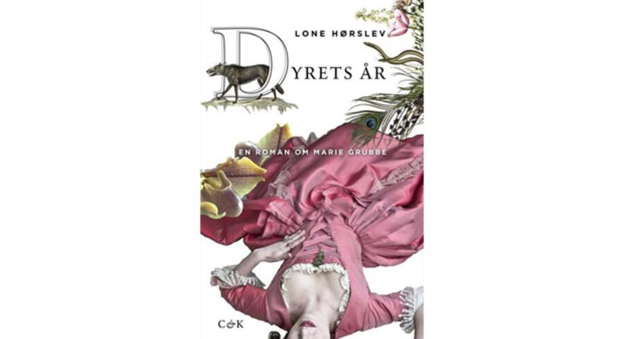 »Dyrets år - en roman om Marie Grubbe« af Lone Hørslev