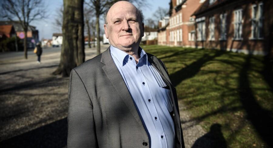 »Lidt groft sagt er Copydan Verdens TV blevet en pengemaskine,« siger Kai Nielsen, landsformand for Forenede Danske Antenneanlæg. Foto: Niels Ahlmann Olesen