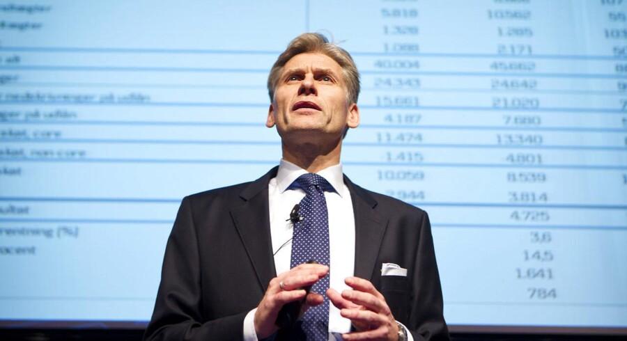 Danske Banks norske topchefs mobiltelefon kan være aflyttet, hvis han har været på besøg i bankens norske hovedkvarter i Oslo.