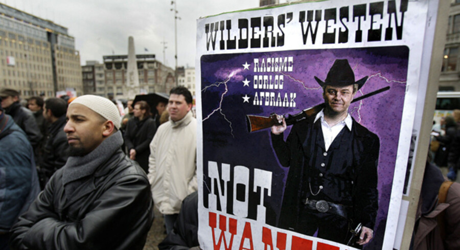 Allerede før filmen blev offentliggjort, har der været voldsomme protestester, her i Belgien, mod Geert Wilders planer om at offentliggøre den antiislamiske film.