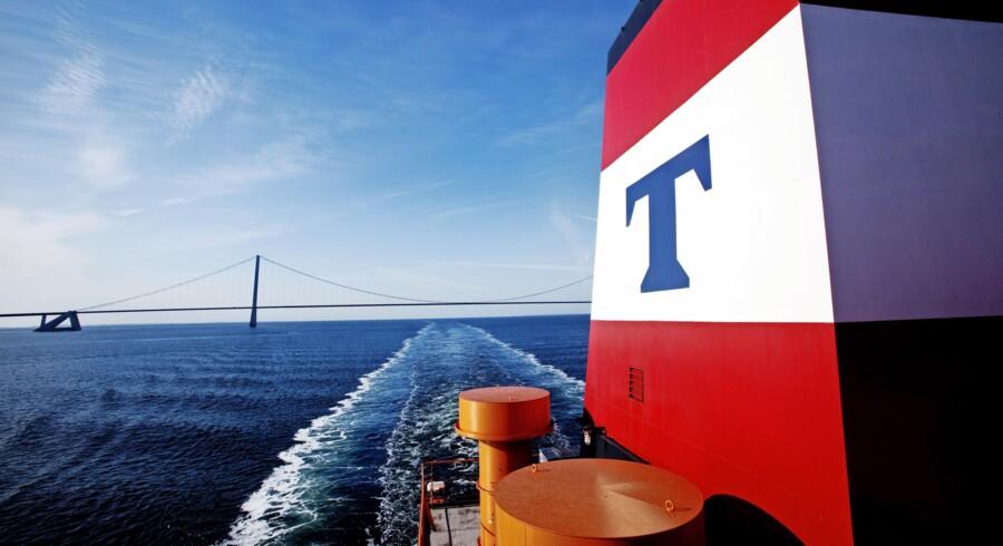 Rederiet Torm må acceptere de gældende fragtrater og forsøge at optimere driften med færrest mulige dage uden indtægter. PR-foto: Thomas Tolstrup