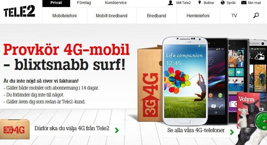 Tele2, som for mange år siden solgte sin danske forretning til Telenor, har nu solgt fra i Sverige.