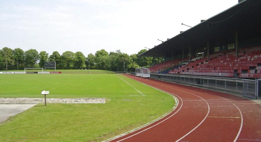 Sundby Idrætspark, ejet af Københavns Kommune, 1. divisionsklubbens Fremad Amagers hjemmebane.