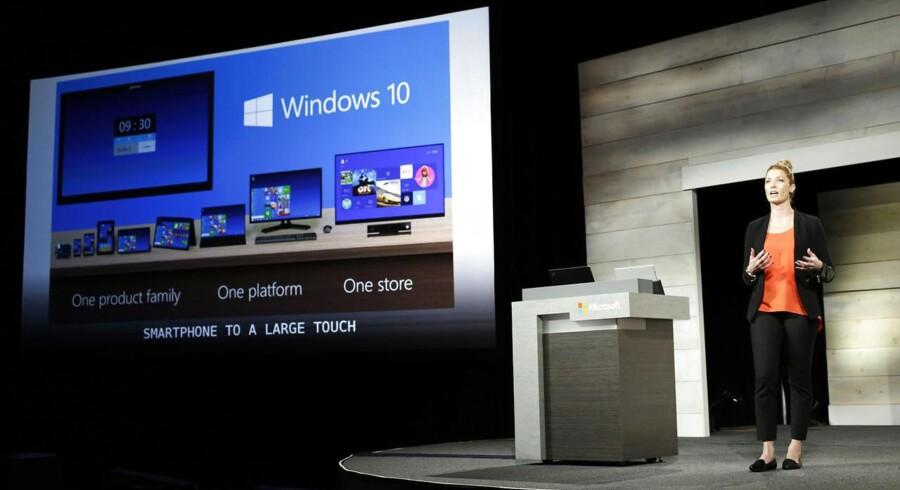 Microsoft bekræfter, at der ikke er planer om Windows til TV, det går alt sammen via spillekonsollen Xbox.