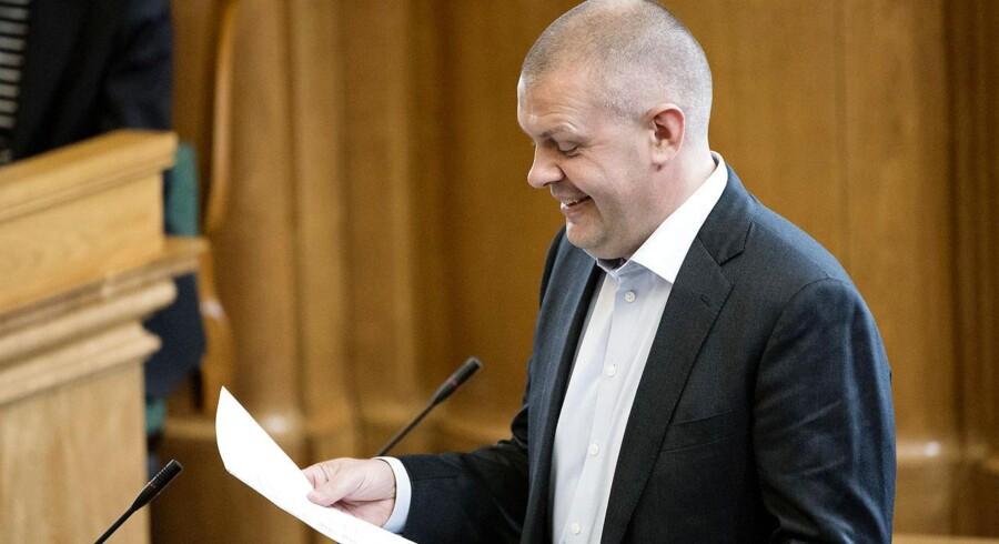 Finansminister Bjarne Corydon (S)