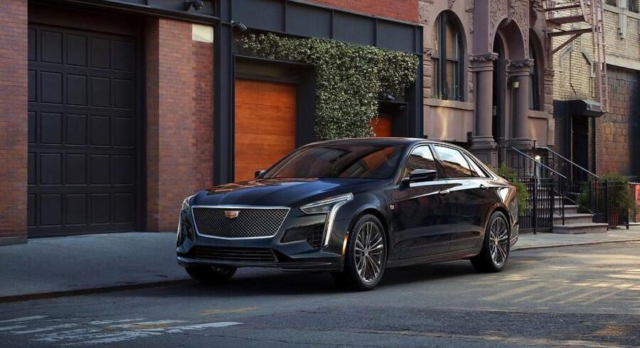 Cadillacs store limousine, CT6, er i klasse med bl.a. Mercedes-Benz S-Klasse, men den har hidtil manglet en stor og kraftig V8-motor. Det får den nu med den første nye Cadillac-motor i årtier, som i CT6 V-Sport yder hele 558 hk