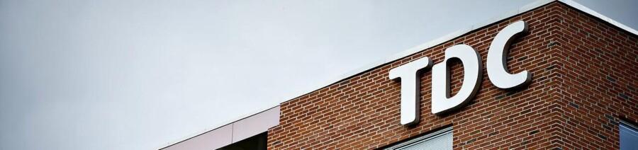 TDC og YouSee facade og logobilleder fotograferet tirsdag d. 7. august. (Foto: Torkil Adsersen/Scanpix 2012)