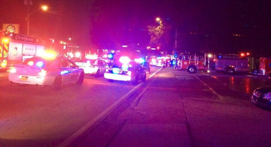 Flere sårede er kørt på hospitalet