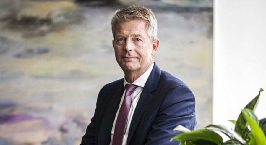 Direktør Hasse Jørgensen er fotograferet i Sampensions hovedkontor i Hellerup. ARKIVFOTO.