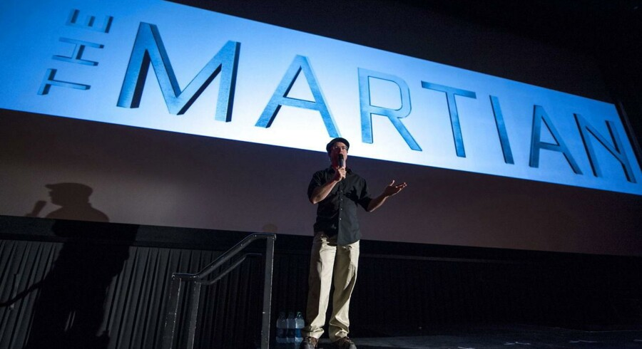 Andy Weirhar instrueret »The Martian« - en stort anlagt rumfilm, ikke en science fiction-film!