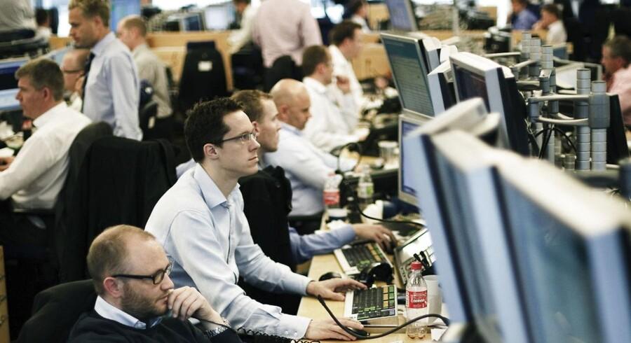 Arkivfoto. Det danske aktiemarked åbner negativt fredag, hvor stort set alle aktier i C20 Cap er klædt i rødt, og hvor Novo Nordisk er kommet i søgelyset.