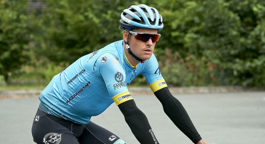 Jakob Fuglsang sluttede på niendepladsen på 1. etape, hvor blandt andre Chris Froome var ramt af uheld. Foto: Claus Bonnerup/Ritzau Scanpix)