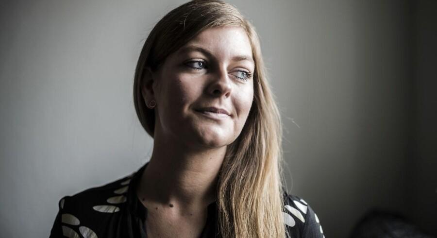 27-årige Annesette Hansen er ægdonor og blevet tilbudt penge for sine æg: »Men jeg forstår godt de barnløse par. Jeg ville til enhver tid også have givet rigtig mange penge for at forbedre mine chancer for at blive mor og få den datter, jeg har i dag.« Foto: Michael Drost-Hansen