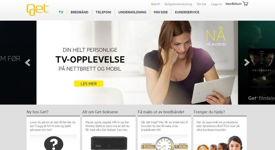 TDC købte for nylig Norges næststørste kabel-TV-selskab Get, som nu er kommet i forbrugerombudsmandens kløer for at påtvinge internetkøbere en TV-forbindelse.
