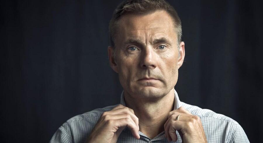 Brøndbys mæcen, Jan Bech Andersen.