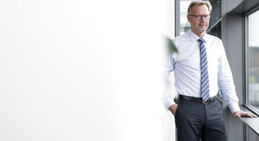 Én af Nykredits største konkurrenter, Jyske Bank-koncernen, der både omfatter Jyske Bank og BRFkredit, fortalte i sidste uge, at koncernen har oplevet en stigende interesse fra kunder efter Nykredit/Totalkredits prisforhøjelser. Her ses direktør Anders Dam.