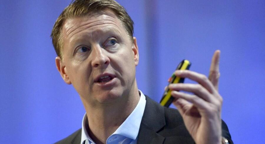 Ericssons topchef, Hans Vestberg, er gået i gang med en kæmpe sparerunde i den svenske netværksgigant. Arkivfoto: Janerik Henriksson, Reuters/Scanpix