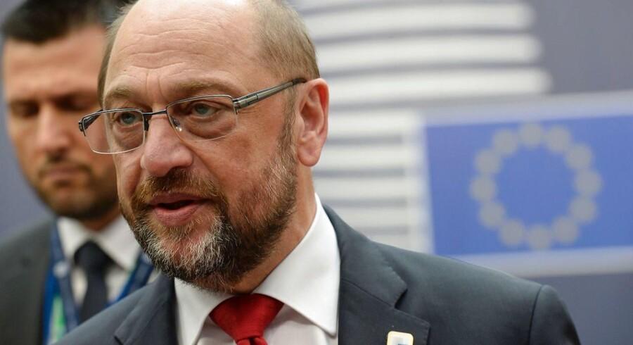 Europaparlamentets formand Martin Schulz