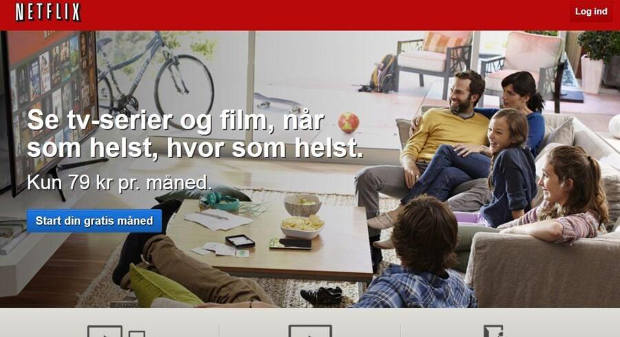 Netflix har været i Danmark siden 2012 men opgiver ikke kunder i de enkelte lande uden for USA.