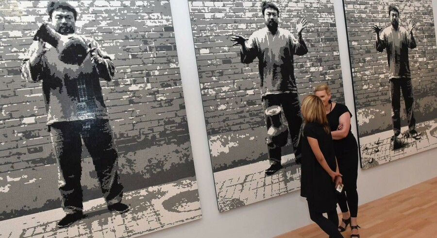 Ai Wei Weis kunstværk lavet af legoklodser