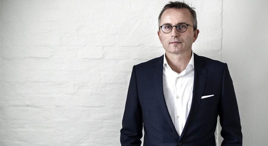 Hermann Haraldsson, adm. direktør i online salgsvirksomheden Boozt.
