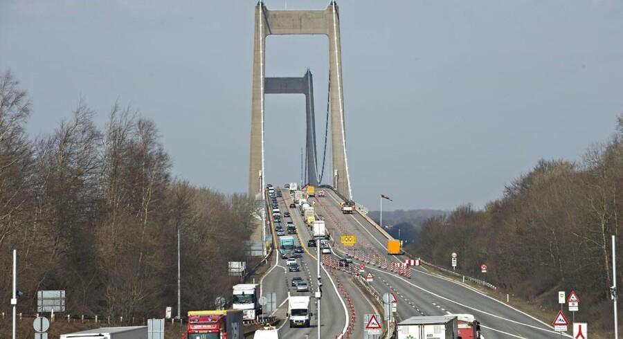 Du kan spare knap 270.000 kr. ved at købe et gennemsnitligt hus på 140 kvm i Fredericia frem for på den anden side af lillebæltsbroen i Middelfart.