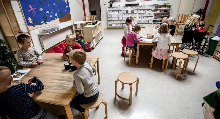 Det duer ikke, at kun 40 ud af 98 kommuner har tal om deres normering på børneområdet, mener forældreforening. (Foto: Morten Dueholm/Scanpix 2014)