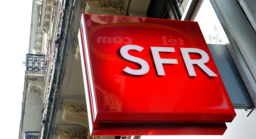 Frankrigs næststørste teleselskab, SFR, er til salg, og der er kø for at købe det. Arkivfoto: Philippe Huguen, AFP/Scanpix