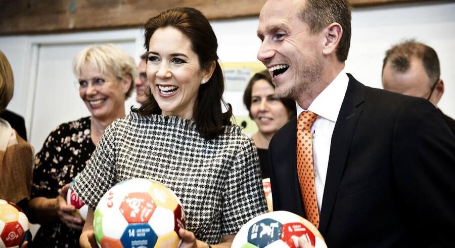 ARKIV. Kronprinsesse Mary og udenrigsminister Kristian Jensen har planlagt rejse til Burkina Faso den 24.-26. januar 2016.