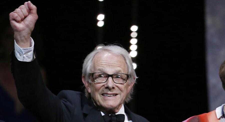 Filminstruktør Ken Loach fik søndag aften Guldpalmen for sin film »I, Daniel Blake«.