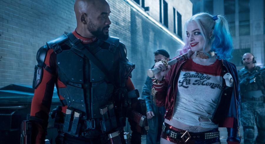 Sidste superhelte-samling - »Suicide Squad« med blandt andre Will Smith og Margot Robbie.