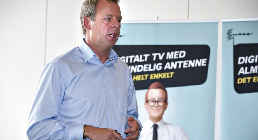 Steen Ulf Jensen må som administrerende direktør for Boxer TV slås stadig mere for at holde på kunderne. Et af våbnene er friere kanalvalg. Arkivfoto: Casper Christoffersen, Scanpix
