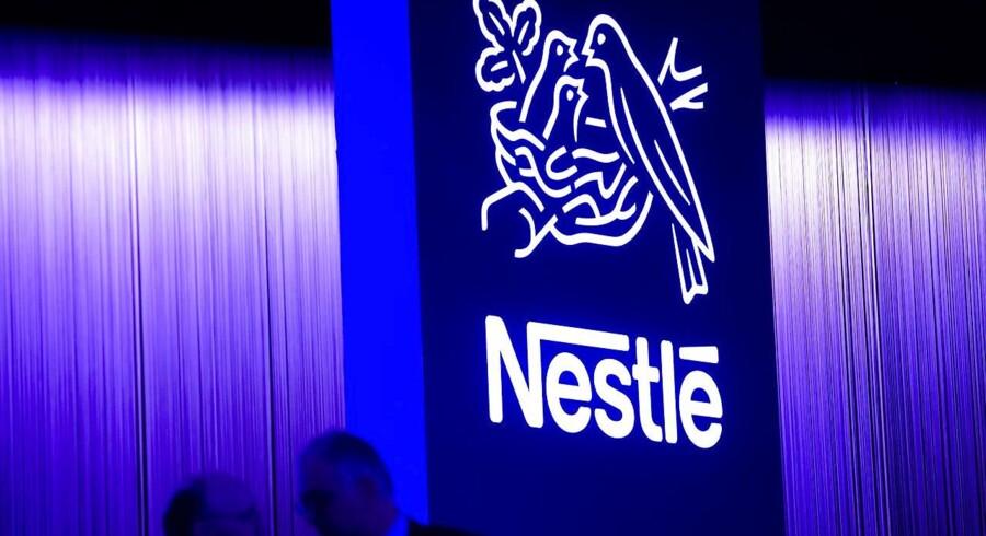Den schweiziske fødevaregigant Nestlé er startet 2018 bedre end ventet. EPA/JEAN-CHRISTOPHE BOTT