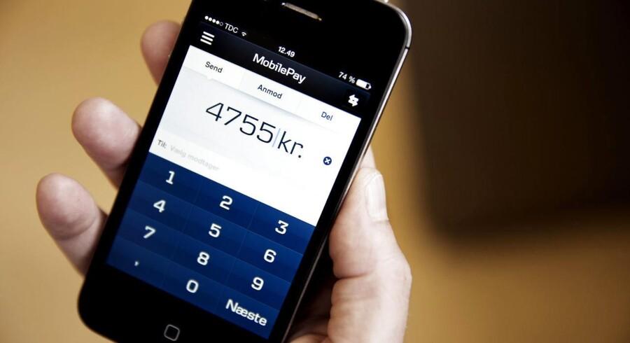 Danskerne foretrækker Danske Banks app Mobile Pay, når de skal betale via mobiltelefonen.