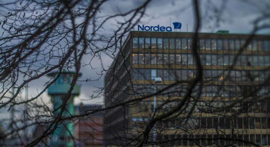 Nordea bank s hovedkvarter. ARKIVFOTO.