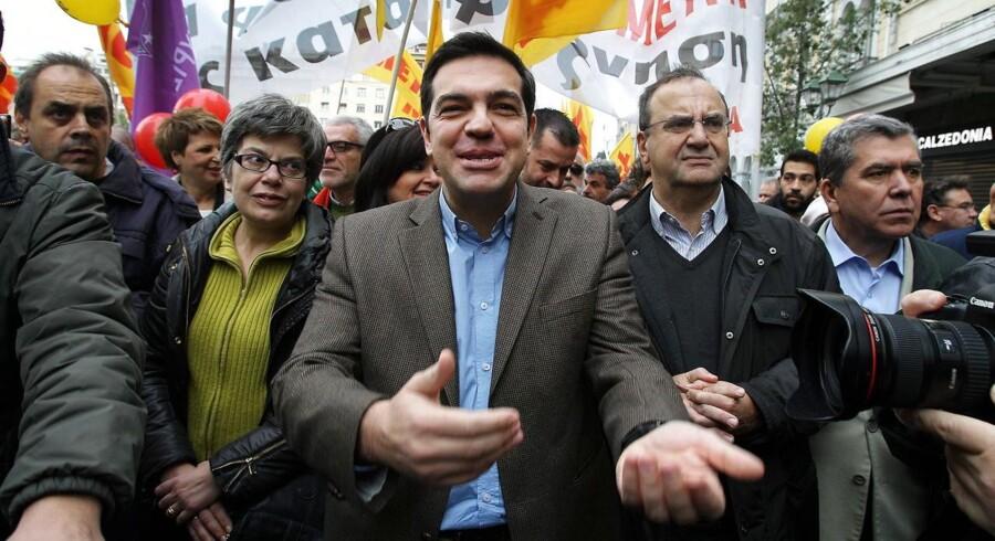Alexis Tsipras stormer frem i Grækenland og kan sætte en stopper for det græske opsving