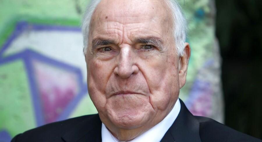 ARKIVFOTO 2014 af Helmut Kohl.