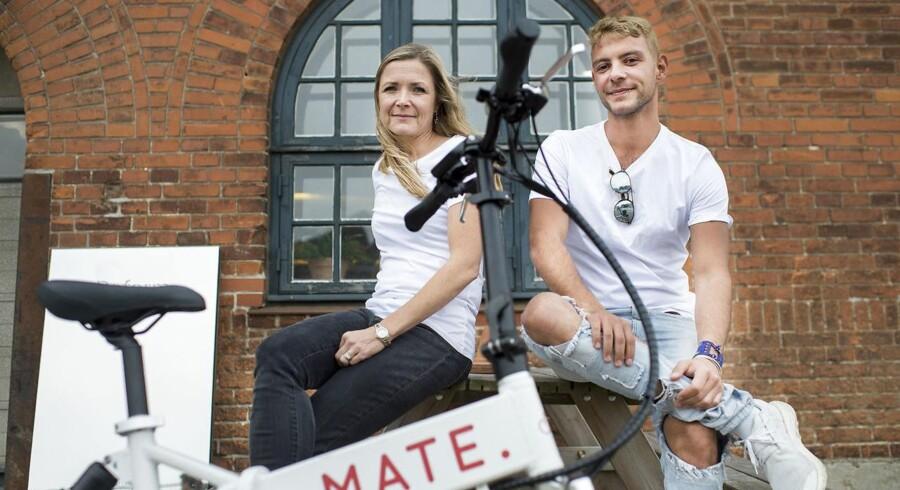 Søskendeparret Julie Kronstrøm og Christian Adel Michael indrømmer, at de er blevet overraskede over, hvor svært det har været at følge med efterspørgslen på cykler, efter at de solgte 6.000 som led i deres crowdfunding-kampagne. Det var 5.900 cykler mere, end de gik efter.
